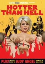 Jaquette Hotter Than Hell - Plus The Lost Films Of Judy Angel