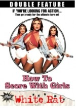 Jaquette How to Score with Girls / White Rat