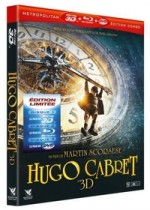Jaquette Hugo Cabret (Blu-ray 3D + Blu-ray + DVD)