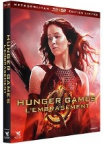 Jaquette Hunger Games 2 : L'embrasement (�dition Limit�e Blu-ray + DVD)
