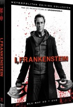 Jaquette I, Frankenstein (�dition Collector Combo Blu-ray 3D + DVD)