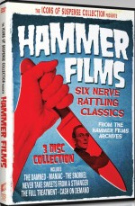 Jaquette Icons of Suspense: Hammer Films