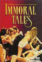 Jaquette IMMORAL TALES