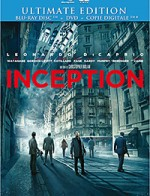 Jaquette Inception (Ultimate édition - Blu-ray + DVD + Copie digitale)