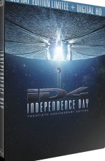 Jaquette Independence Day - Édition 20ème Anniversaire boîtier SteelBook Blu-ray + Digital HD