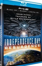 Jaquette Independence Day : Resurgence (Combo Blu-ray 3D + Blu-ray 2D)
