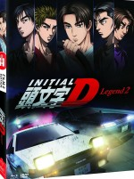 Jaquette Initial D : Legend - Film 2 (Combo Collector Blu-ray + DVD)