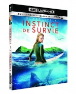 Jaquette Instinct de survie (4K Ultra HD + Blu-ray)