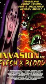 Jaquette INVASION FOR FLESH AND BLOOD (OCCASION)