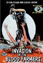 Jaquette INVASION OF THE BLOOD FARMERS EPUISE/OUT OF PRINT