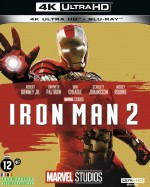 Jaquette Iron Man 2 (4K Ultra HD + Blu-ray)