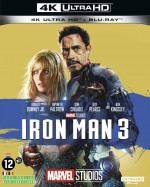 Jaquette Iron Man 3 (4K Ultra HD + Blu-ray)