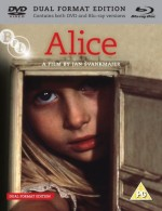 Jaquette Jan Svankmajer's Alice (DVD + Bluray)