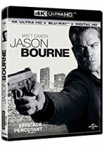 Jaquette Jason Bourne (4K Ultra HD + Blu-ray + Copie Digitale UltraViolet)
