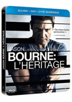 Jaquette Jason Bourne : l'h�ritage (Combo Blu-ray + DVD + Copie digitale)