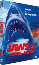 Jaquette Jaws 5 - Cruel Jaws EPUISE/OUT OF PRINT