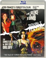 Jaquette Jess franco's forgotten films vol. 1 - the silence of the tomb/the sinister eyes of dr orloff