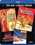 Jaquette Jess Franco Triple Bill EPUISE/OUT OF PRINT