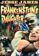 Jaquette Jesse James Meets Frankenstein's Daughter