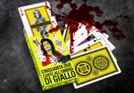 Jaquette Jeu de cartes - Giallo EPUISE/OUT OF PRINT