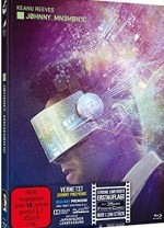 Jaquette Johnny Mnemonic (2Discs) - Mediabook - Limited 1200 Edition