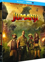 Jaquette Jumanji : Bienvenue dans la jungle [Blu-ray + Digital UltraViolet]