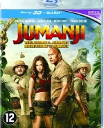 Jaquette Jumanji : Bienvenue dans la jungle - Edition 3D [Blu Ray 3D + Blu Ray]