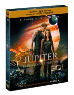 Jaquette Jupiter : le destin de l'Univers (Ultimate Édition Limitée - Blu-ray 3D + Blu-ray + Copie digitale)