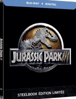 Jaquette Jurassic Park 3 [Édition SteelBook Blu-ray + Digital HD]