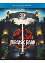 Jaquette Jurassic Park (Combo Blu-ray 3D + Blu-ray)