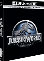 Jaquette Jurassic World  [4K Ultra HD + Blu-ray + Digital HD]