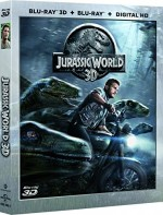 Jaquette Jurassic World (Blu-ray 3D & 2D + Copie digitale)