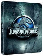 Jaquette Jurassic World (Blu-ray + Copie digitale - Édition boîtier SteelBook)