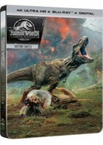 Jaquette Jurassic World : Fallen Kingdom (4K Ultra HD + Blu-ray + Digital - Édition boîtier SteelBook)