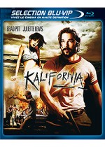 Jaquette Kalifornia (�dition Blu-ray + DVD)