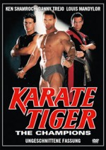 Jaquette Karate Tiger 10 - The Champions