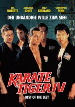 Jaquette Karate Tiger 4 - Best of the Best