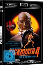 Jaquette Kickboxer 4 - The Aggressor