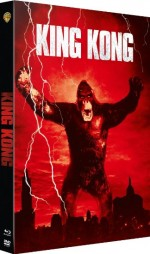 Jaquette King Kong (Combo Blu-ray + DVD + Copie digitale)