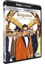 Jaquette Kingsman 2 : Le Cercle d'Or (4K Ultra HD + Blu-ray)