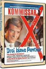 Jaquette Kommissar X Teil 5: Drei Blaue Panther EPUISE/OUT OF PRINT
