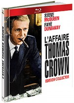 Jaquette L'Affaire Thomas Crown (Édition Digibook Collector + Livret)