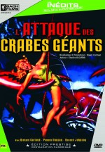 Jaquette L'Attaque des Crabes Gants