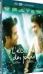 Jaquette L'�cume des jours  (Combo Blu-ray + DVD + Copie digitale)