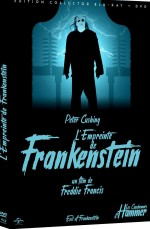 Jaquette L'Empreinte de Frankenstein [Édition Collector Blu-ray + DVD]