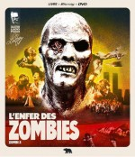 Jaquette L'Enfer des Zombies (Livre/BluRay/DVD)