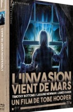 Jaquette L'Invasion Vient de Mars (bluray)