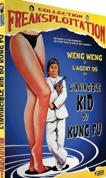 Jaquette L'Invincible Kid du Kung Fu