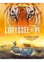 Jaquette L'Odyss�e de Pi (Blu-ray + Copie digitale)