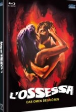 Jaquette L'Ossessa - Das Omen des Bösen - (2-Disc Limited Edition Cover A)  (Blu-ray + DVD)